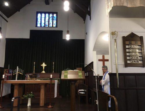 東京聖テモテ教会へお邪魔しました。
